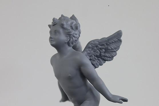 天使立体を3Dスキャンしたフィギュア