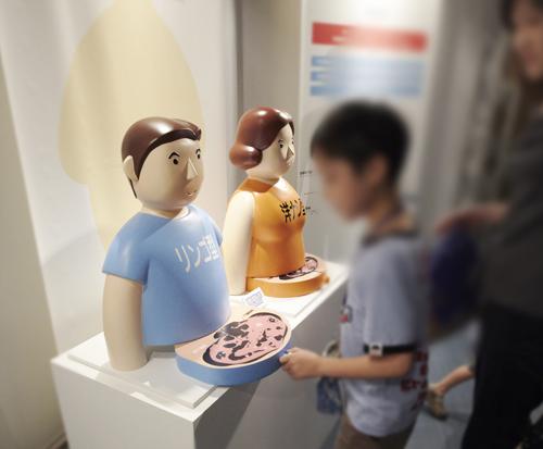 医学会展示人形