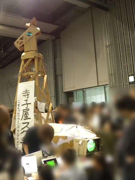 """メイカーフェア2012にて""""キリン"""""""