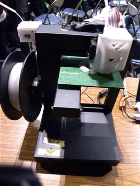 メイカーズフェア2012にて3Dプリンター