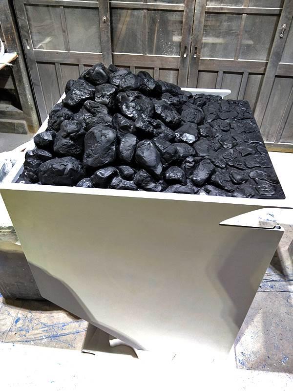 トラクター石炭造形