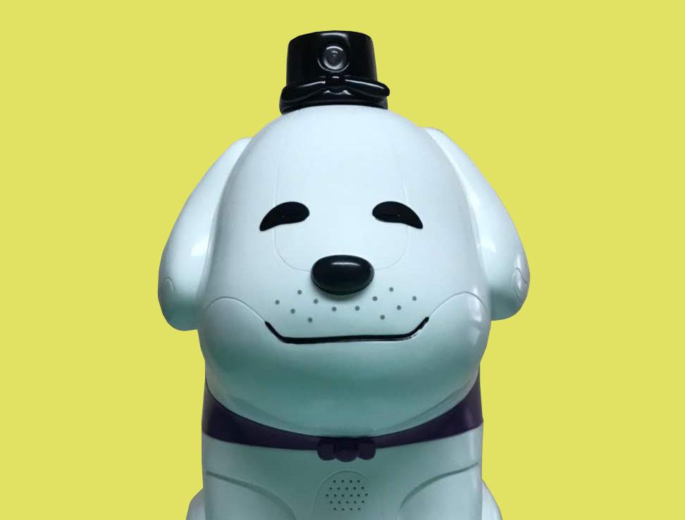 音声認識スピーカー搭載キャラクター人形
