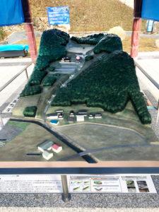 砂防ダム模型製作完成図