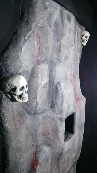 擬岩と骸骨エージング塗装2