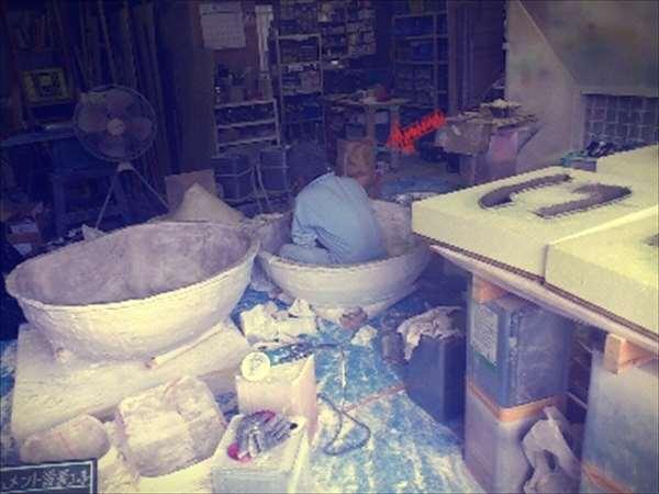 工場型取り作業