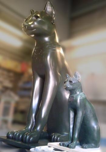 バステト「ゲイヤー・アンダーソンの猫」巨大レプリカ